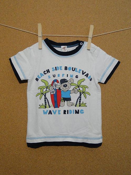 T-Shirt Bio Coton Migros : Taille 86cm