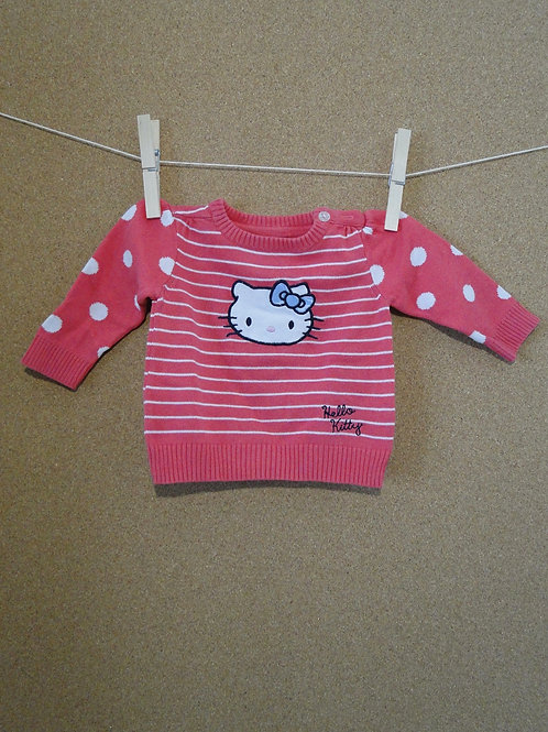 Pull Hello Kitty : Taille 62cm