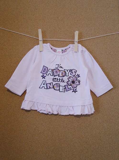 Pull Smile girl : Taille 68cm