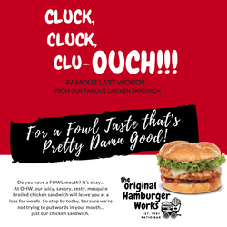 OHW cluck AD