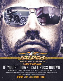 Russ Brown Shades ad