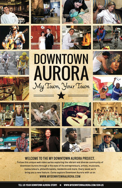 Downtown Aurora - MyTown Poster