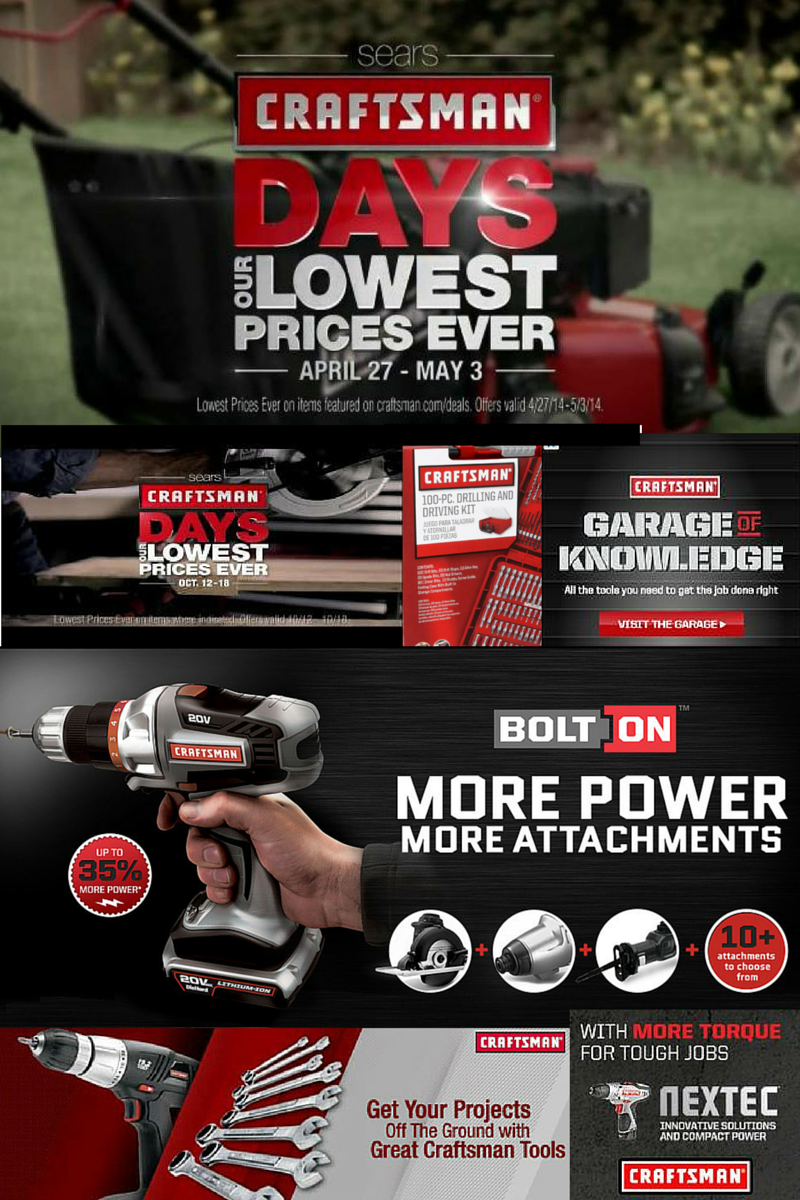 Craftsman digital ads