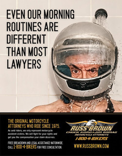 Russ Brown Ad Campaign
