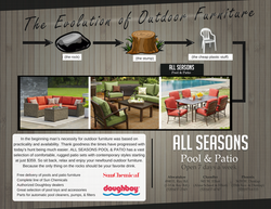 ALL SEASONS POOL & PATIO ad