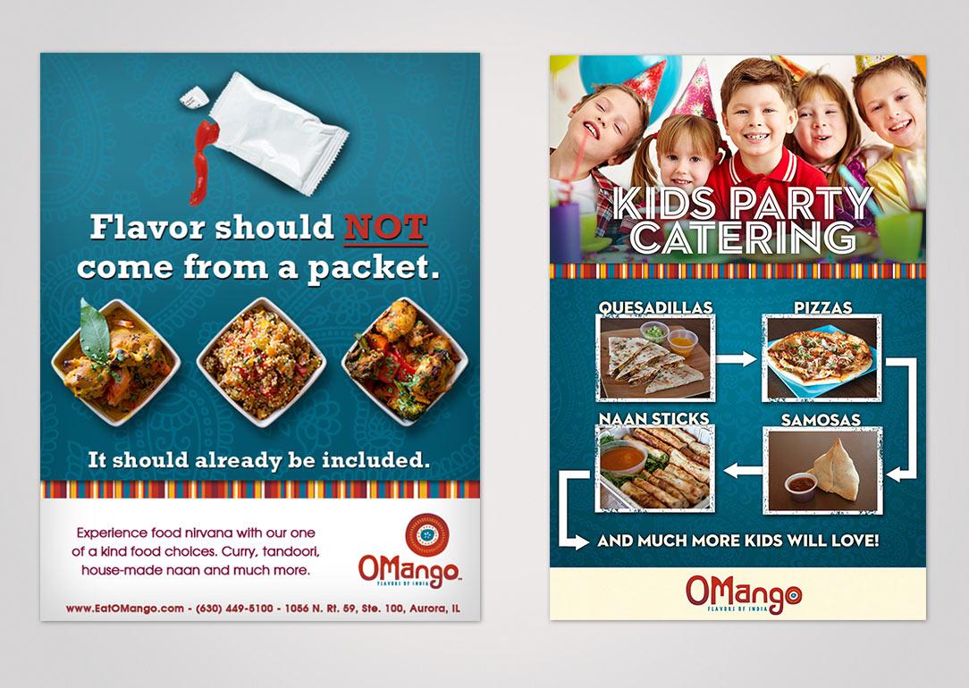 OMango: Ad Campaign -Instore Signage