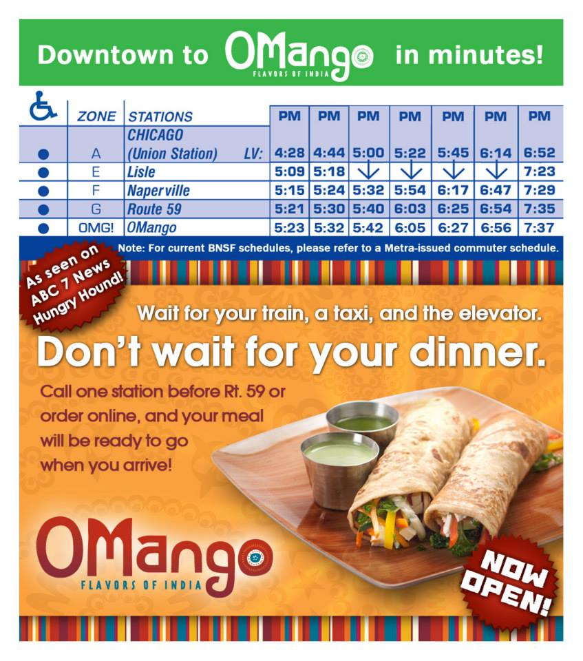 OMango Metra Train Promo