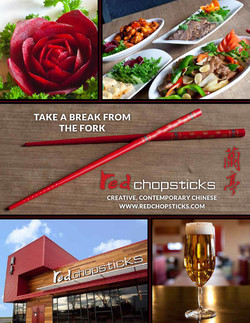 Red Chopsticks - ad campaign