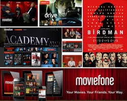 Moviefone online digital ads-banners
