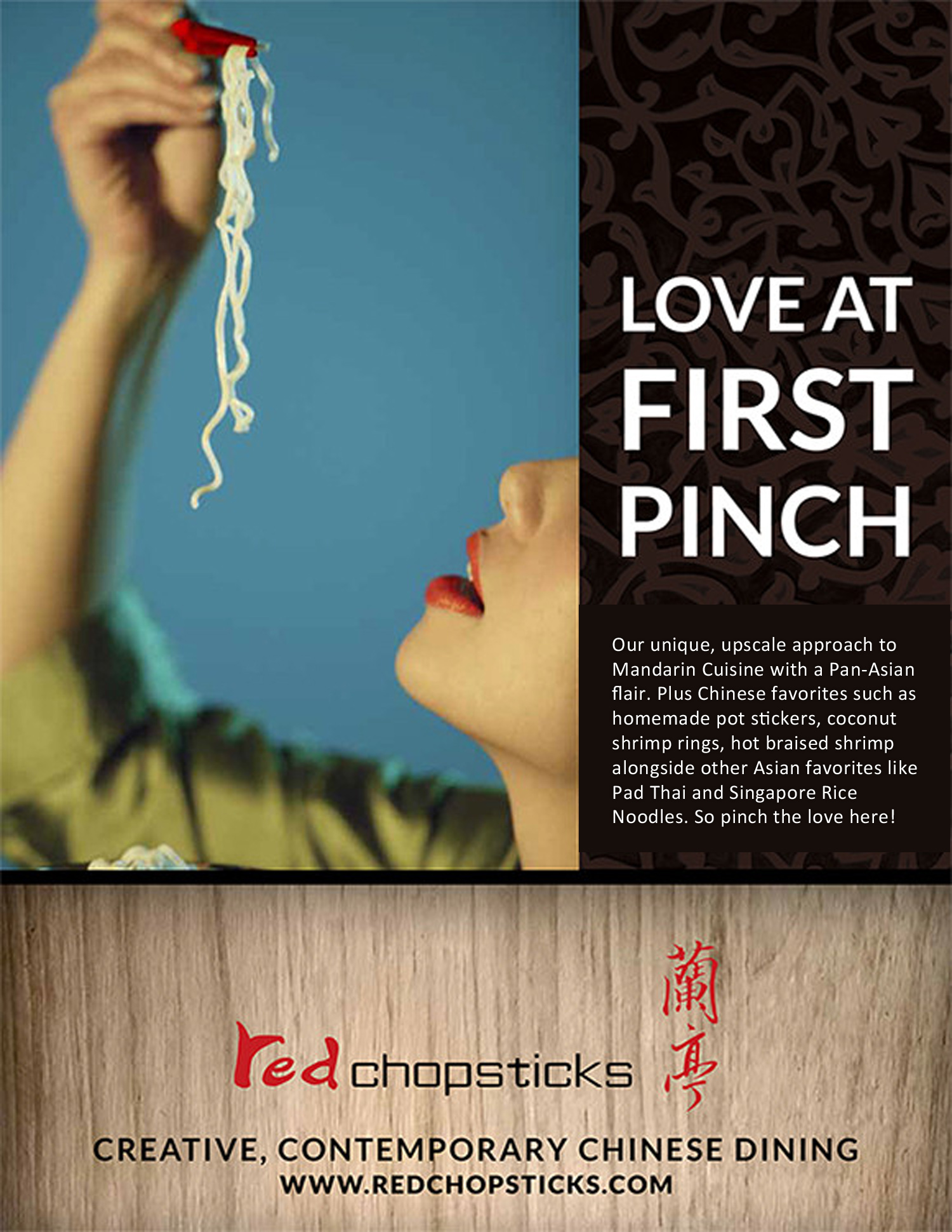 Red Chopsticks Ad Campaign