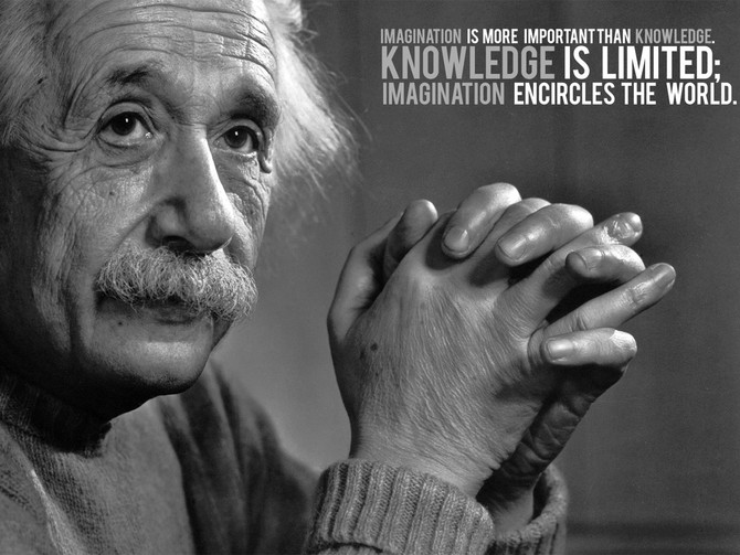 Albert Einstein = Ad Creative Genius! Curiosity: A Secret Success to Advertising