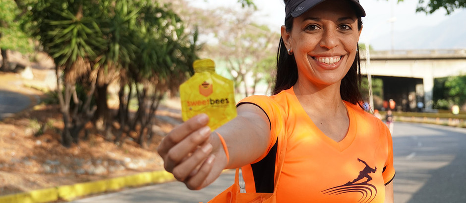 SweetBees puso la energía en el Maratón de Caracas