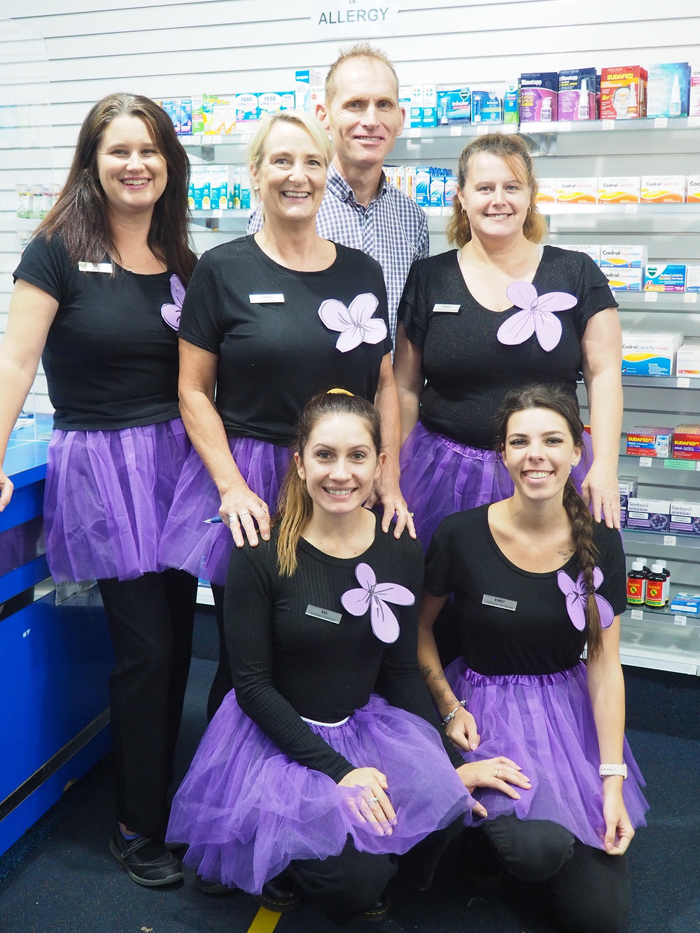 Our friends at Wauchope Pharmacy are proud to be runners up for The Best Dressed Staff Prize and are featured in Brilliant Online