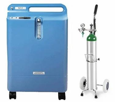 Concentrador de Oxigeno más Tanque