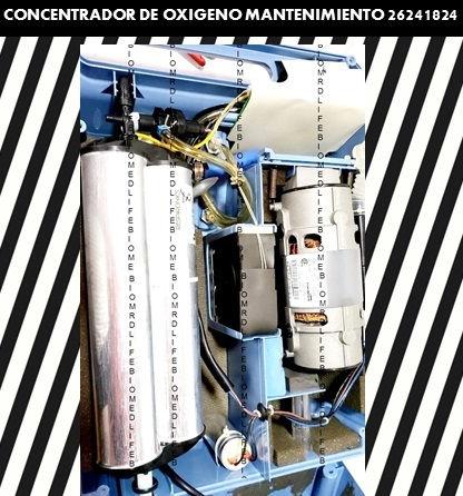 concentrador de oxigeno mantenimiento bi