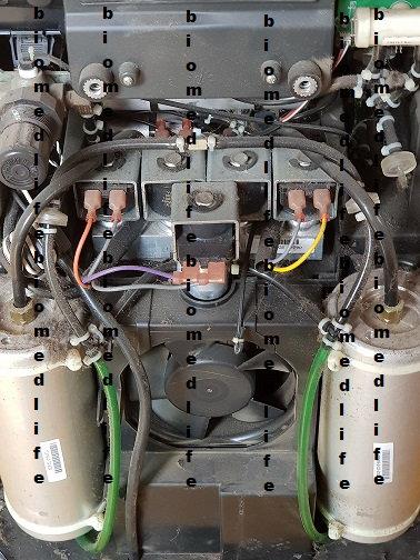 Concentrador de Oxígeno compresor
