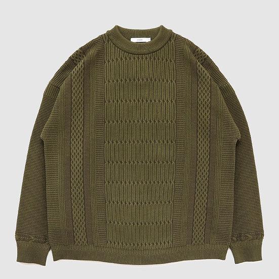 YASHIKI Tsurara Knit(Olive)