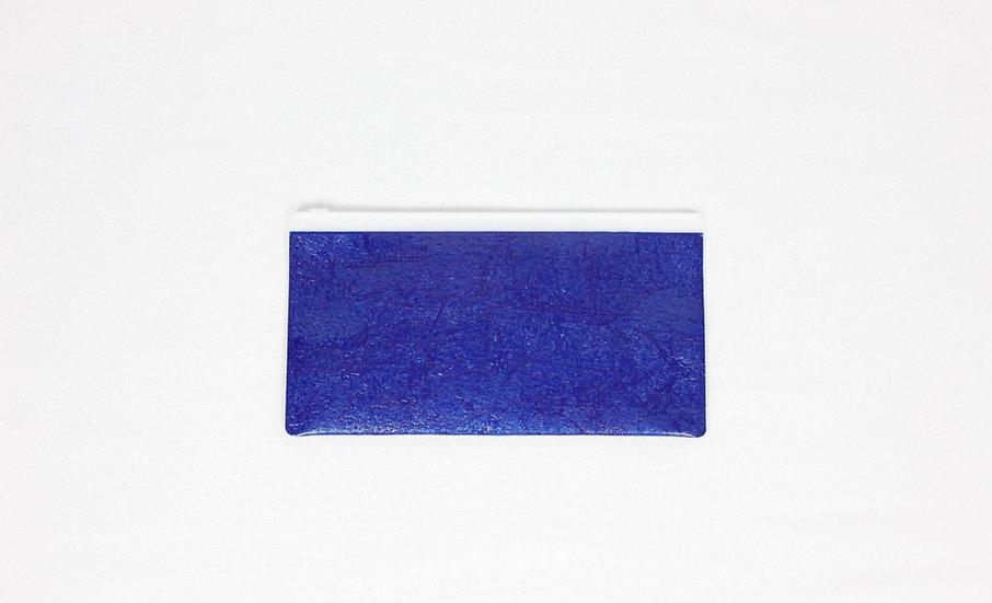 PE SLIDER POUCH S (Blue)