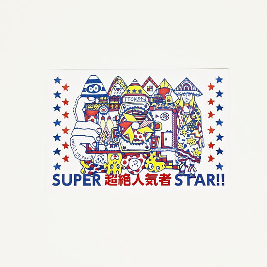 ITOKiN Post card No.1 (SUPER STAR)