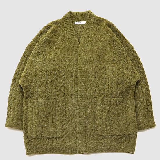 YASHIKI Setsuen Hanten Knit(Lime)