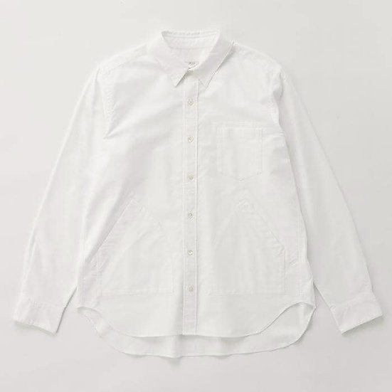 IKIJI Side Pocket Shirts (White)