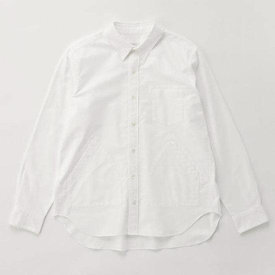 IKIJI Side Pocket Shirts (White)