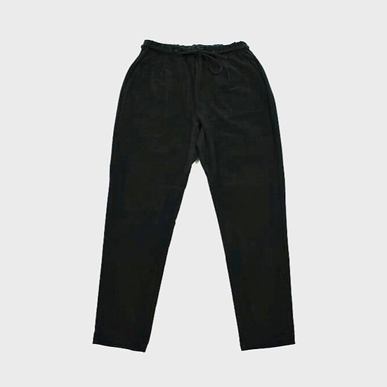 CURLY&Co EZ TAPERED TROUSERS (Black)