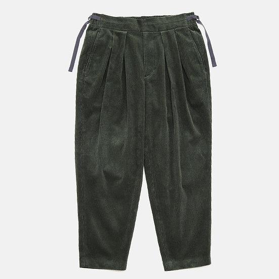 SAYATOMO Karusan Corduroy Pants(Olive)