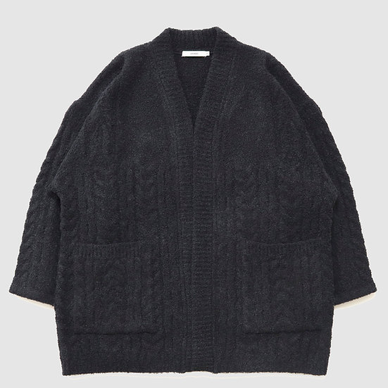 YASHIKI Setsuen Hanten Knit(Black)