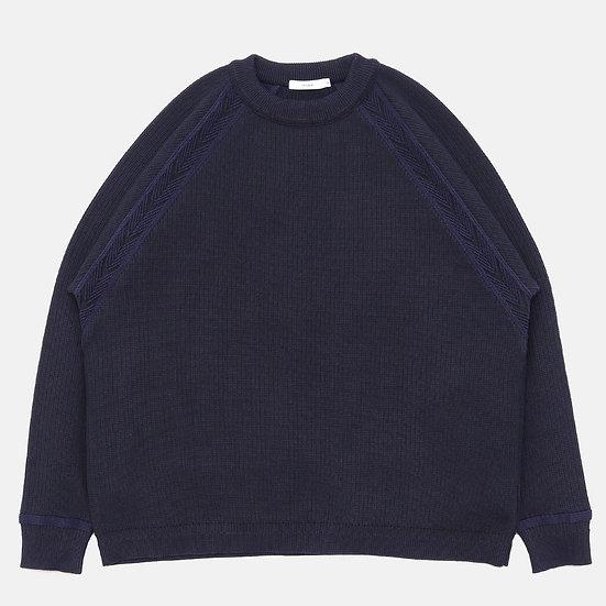 YASHIKI Tasukigake Knit(Navy)