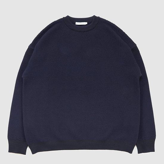 YASHIKI Ginrei Knit(Navy)