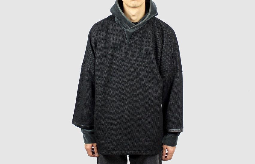 CURLY&Co Freedom QS Sweatshirt (Chrcoal)