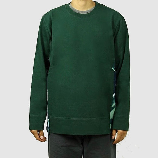 "CURLY&Co SWITCHING L/S TEE with ""CHU-SEN""(Green)"