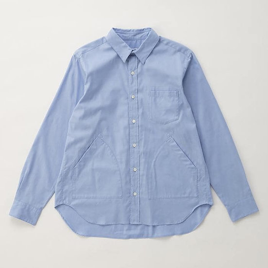 IKIJI Side Pocket Shirts (Light Blue)