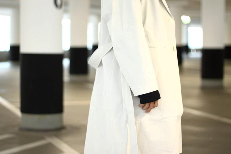 IKIJI Cotton Coat (Beige)