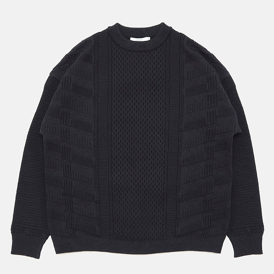 YASHIKI Arare Knit(Black)