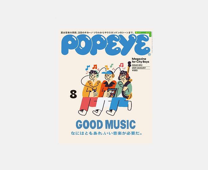 POPEYE  Issue 892