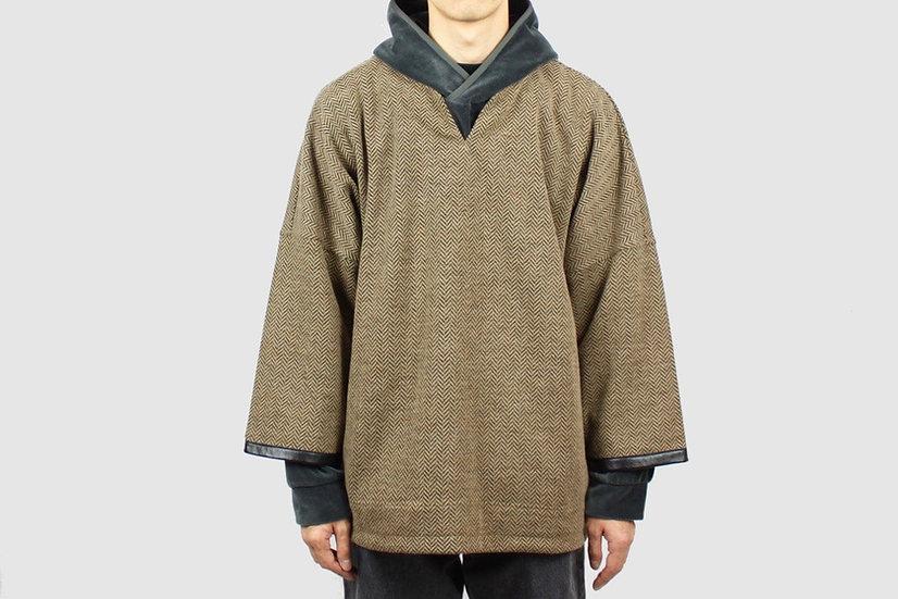CURLY&Co Freedom QS Sweatshirt (Camel)