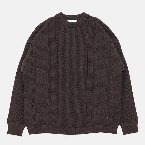 YASHIKI Arare Knit(Brown)