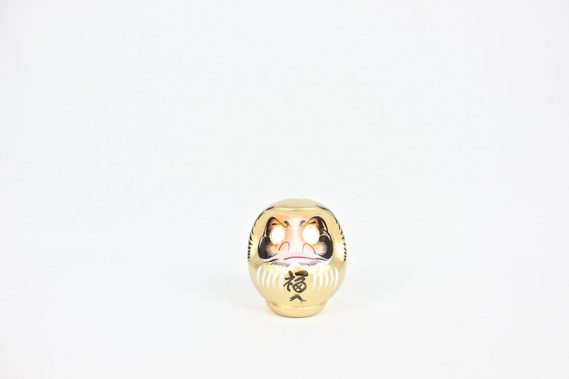 Daruma 12cm (Gold)