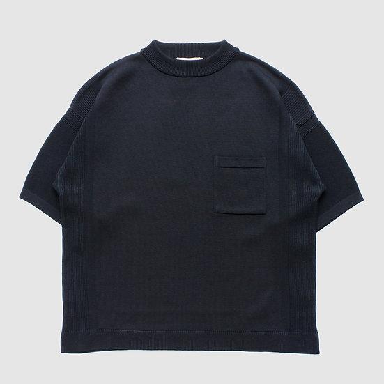YASHIKI Seiran Mock Knit (Black)