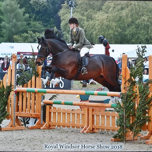 Royal Windsor Horse Show _Charlie was simply amazing, we had one unlucky pole down but be tried his