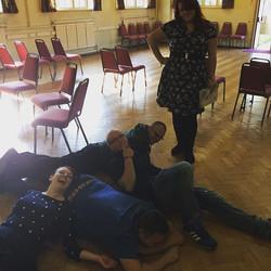 Sweeney Todd Rehearsals