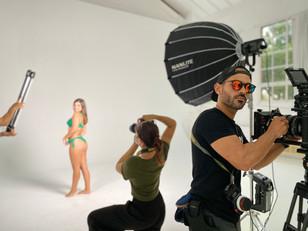 BRUERÄ Sustainable Swimwear Commercial shoot