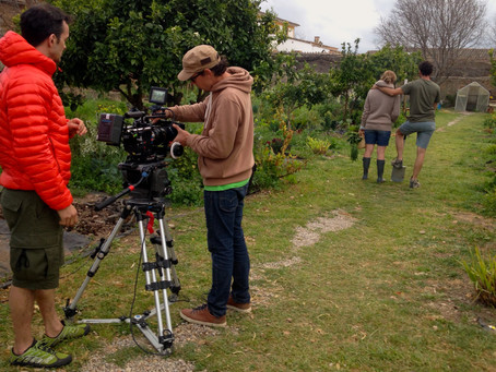 servicing another commercial shoot in Mallorca