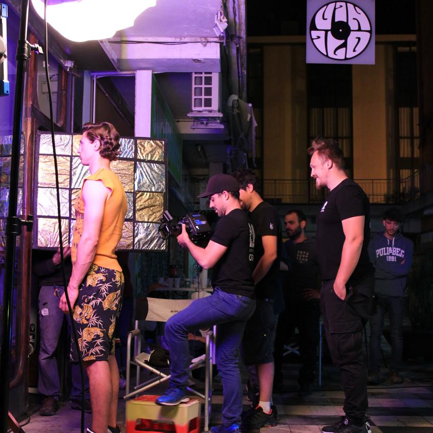 music video shoot Mallorca