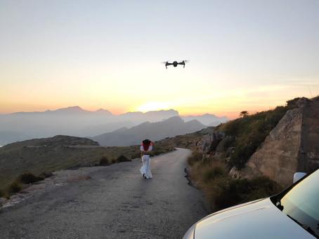 Latest music video shoot in Mallorca, Spain
