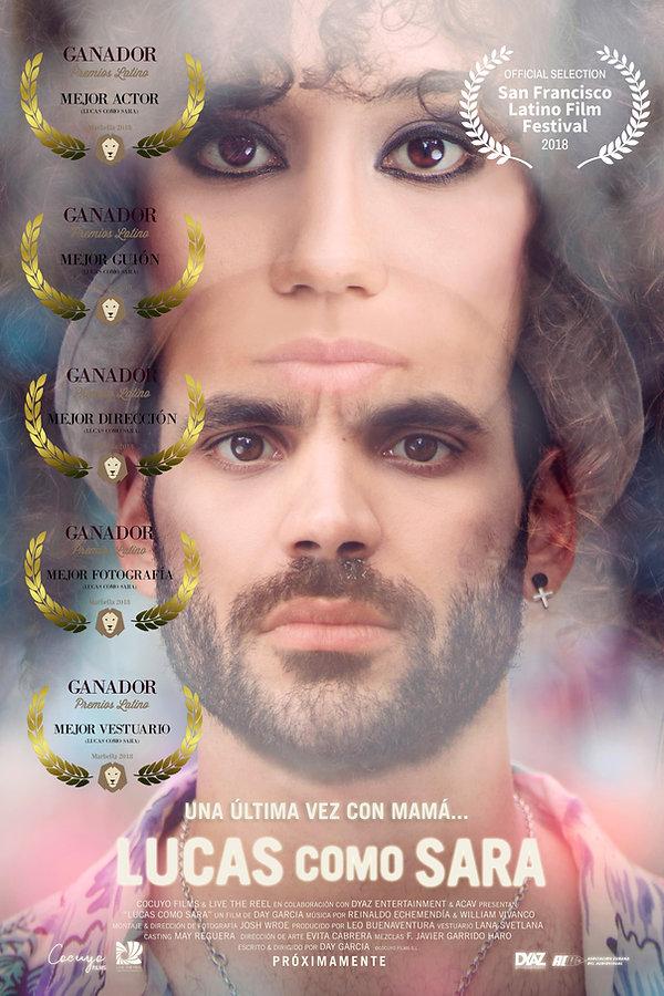 LUCAS COMO SARA poster SFselection_5awar