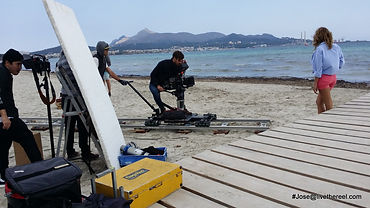 Live The Reel video production service Mallorca, Spain
