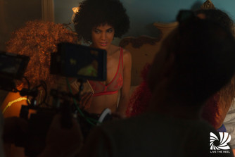 BTS on music video for DESNUDA director Day Garcia